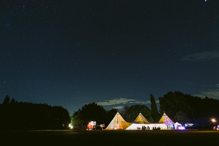Night Tipi Lighting Bohemian Outdoor Blessing Garden Wedding http://www.lukehayden.co.uk/