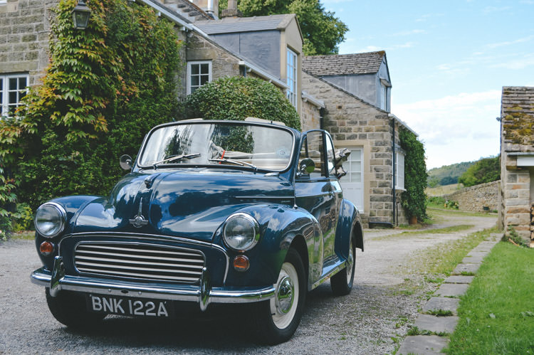 Classic Car Home Made Vintage Pale Blue Wedding http://www.elliegracephotography.co.uk/