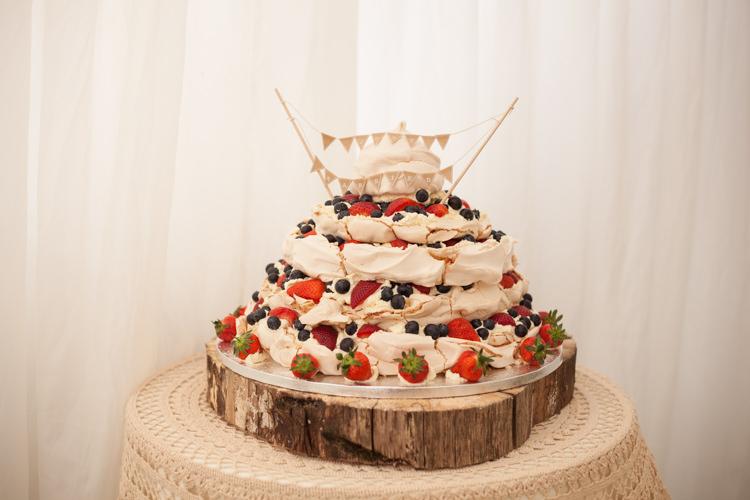 Pavlova Cake Pastel Marquee Garden Party Wedding https://www.deliciousphotography.co.uk/