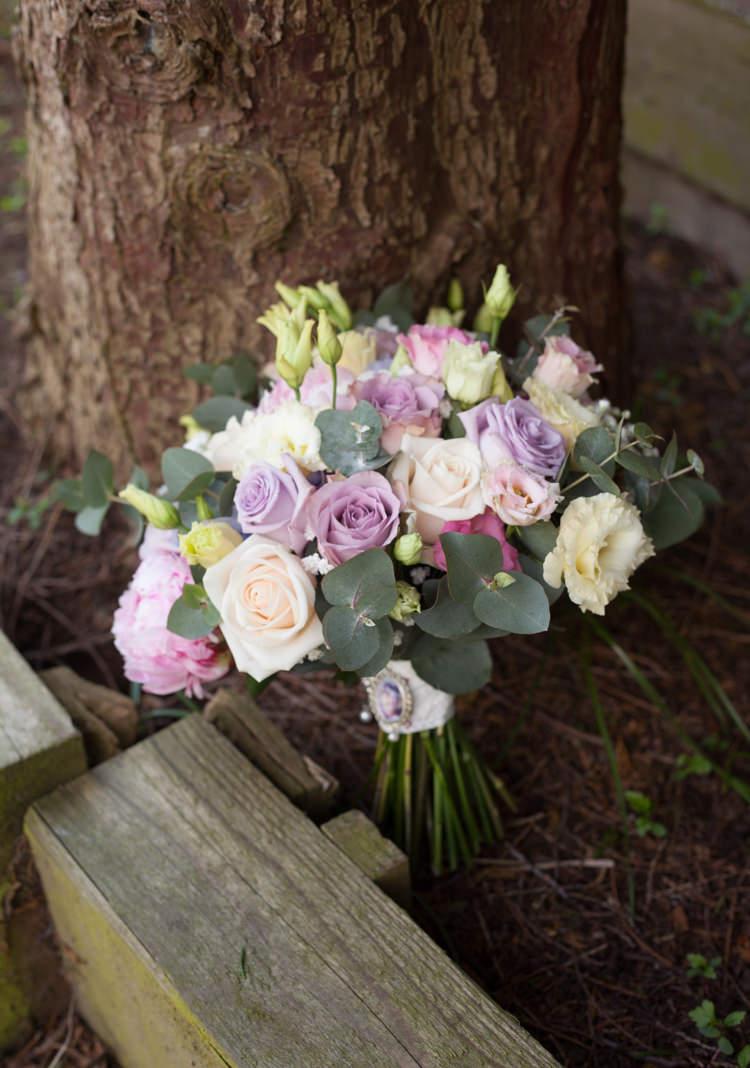 Pink Purple Rose Bouquet Bride Bridal Flowers Pastel Marquee Garden Party Wedding https://www.deliciousphotography.co.uk/