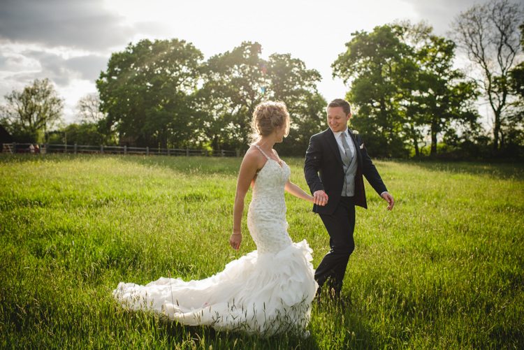 Kitty Chen Couture Fishtail Dress Gown Bride Bridal Magical Fun Outdoor Barn Wedding http://www.sophieduckworthphotography.com/
