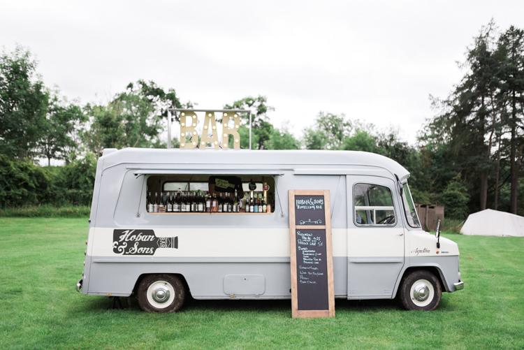 Vintage Van Bar Hoban Sons Camping Festival Rave Tipi Wedding http://petalandblushartistry.co.uk/
