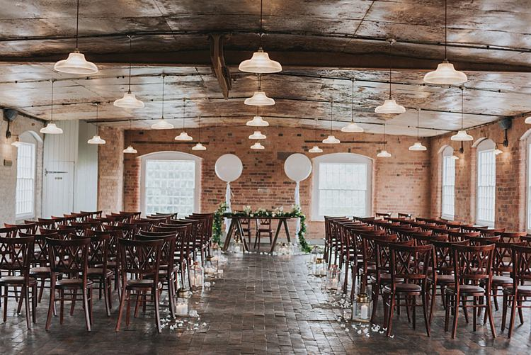 The West Mill Derbyshire Venue Industrial Cool Mill Greenery Wedding http://www.beckyryanphotography.co.uk/