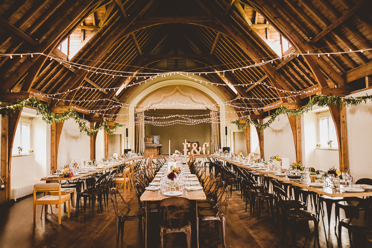 Fairy Lights Foliage Swags Garlands Rustic Decor Eclectic Whimsical Village Hall Wedding http://www.nicolacasey.photography/