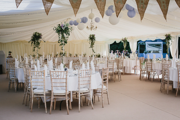 Marquee Lanterns Lilac White Flowers Butning Bohemian Outdoor Country Wedding https://www.alexapoppeweddingphotography.com/