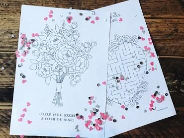 Free Download Printable Kids Children Colouring Sheets Games Activities Bea & Bloom UK