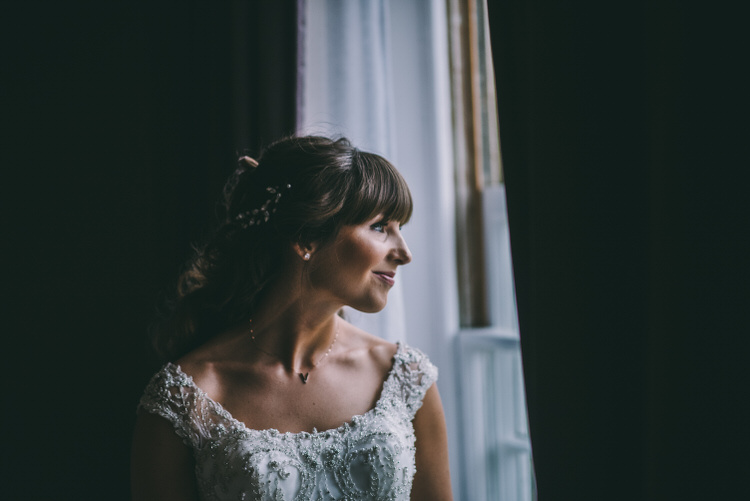 Bride Hair Style Fringe Bangs Bridal Magical Bohemian Barn Wedding http://www.jamespowellphotography.co.uk/