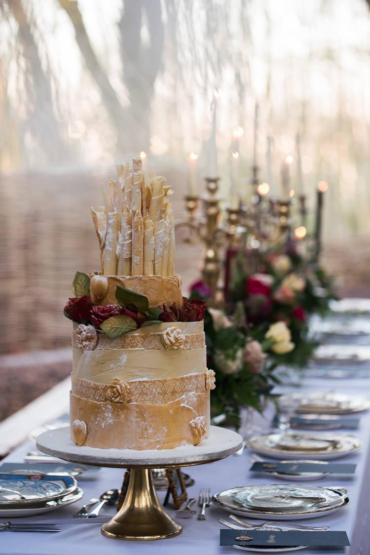 Chcolcate Cake Flowers Shards Beauty And The Beast Wedding Ideas https://sophiecarefull.co.uk/