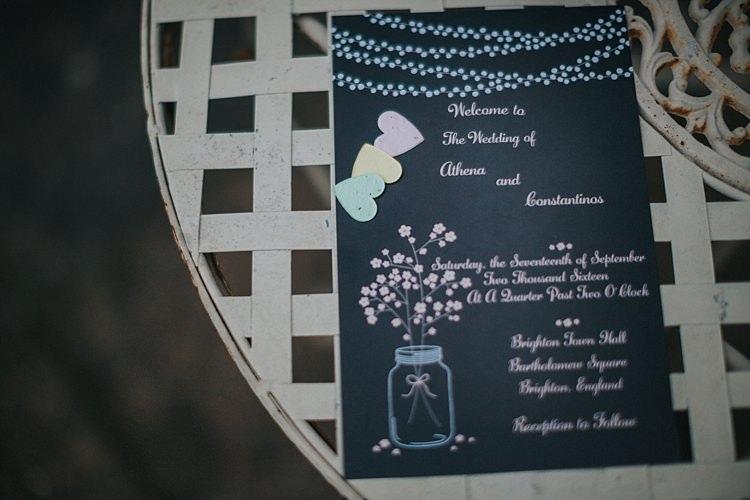 Stationer Invitation Whimsical Seaside Wedding Pale Pink Dress http://devlinphotos.co.uk/