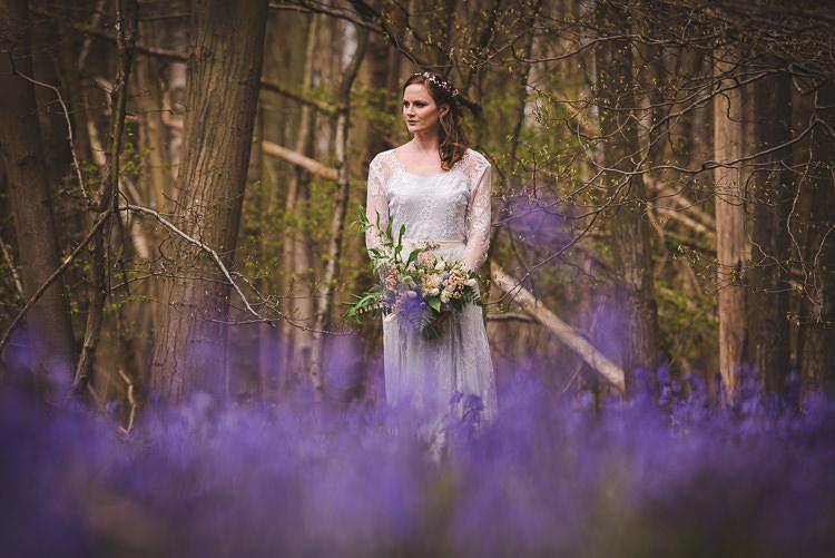 Magical Spring Bluebell Woodland Wedding Ideas http://helinebekker.co.uk/