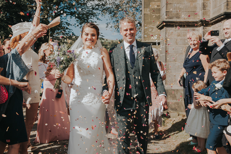 Confetti Throw Beautiful Flowery Country Marquee Wedding http://www.maddiefarrisphotography.co.uk/