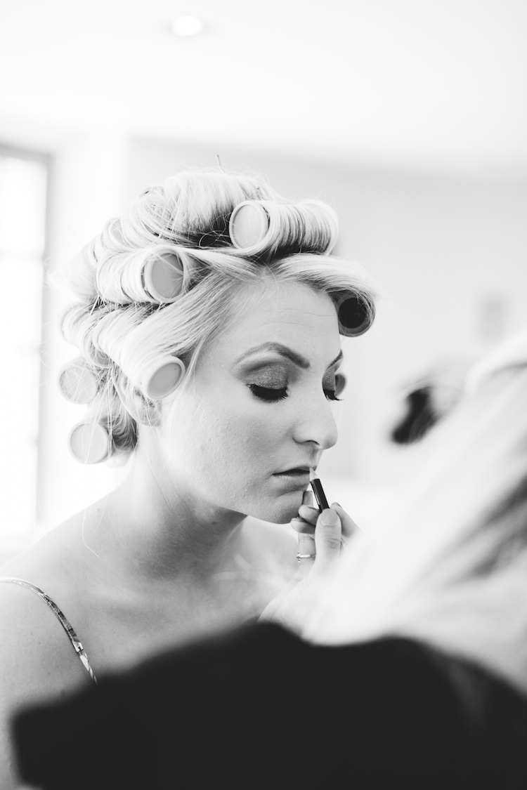 Hair Make Up Bride Bridal Cotswolds Country House Marquee Wedding http://www.wearegatheredheretoday.com/