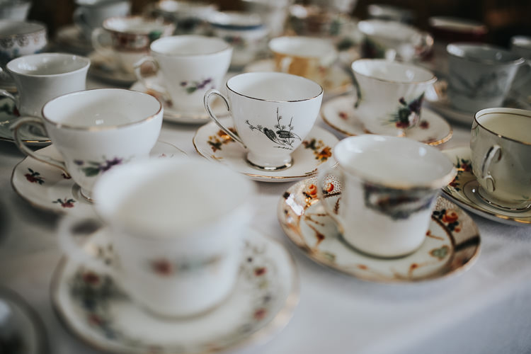 Vintage China Tea Set Cup Saucer DIY Farm Weekend Long Wedding http://www.nestalloyd.co.uk/