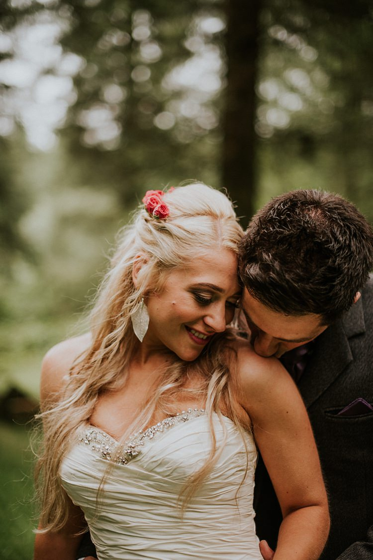 Long Hair Bride Bridal Waves Flowers Creative Woodland Mad Hatters Tea Party Wedding https://www.clairefleckphotography.com/