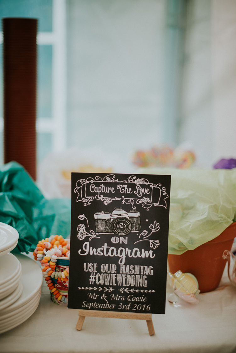 Instagram Sign Creative Woodland Mad Hatters Tea Party Wedding https://www.clairefleckphotography.com/