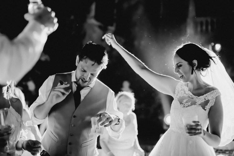 Party Dancing Drinks Romantic Vibrant Pink Wedding Trieste http://www.emotionttl.com/en/home/