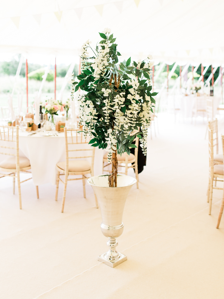 Tree Flowers Marquee Decor Whimsical Luxury Summer Garden Party Wedding https://www.wookiephotography.com/
