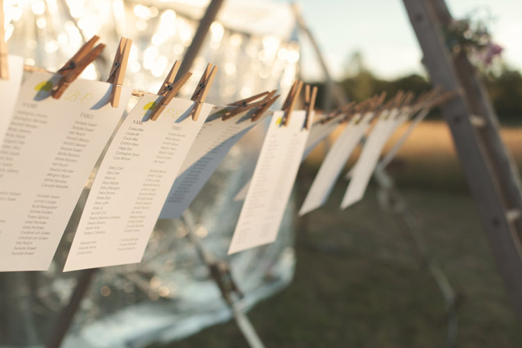 Seating Plan Table Chart Line Pegs Casual Country Farm Wedding Ontario https://tiedphotography.com/