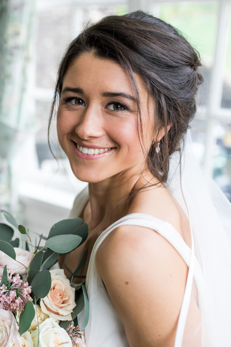 Make Up Bride Bridal Beauty Pretty Soft Country Garden Pastel Wedding Ideas https://www.ellielouphotography.co.uk/