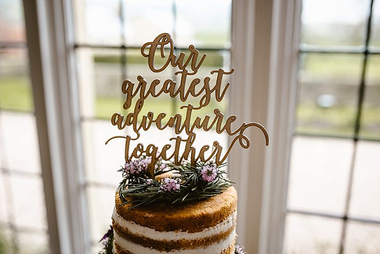 Cake Topper Words Beautiful Countryside Wedding Ideas Inspiration http://www.georginabrewster.com/