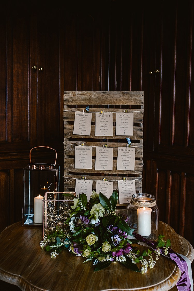 Wooden Pallet SEating Plan Table Chart Beautiful Countryside Wedding Ideas Inspiration http://www.georginabrewster.com/
