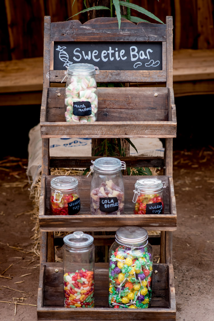 Sweetie Table Bar Sweets Crates Rustic Hippy Festival Travel Wedding http://www.mattbadenoch.com/