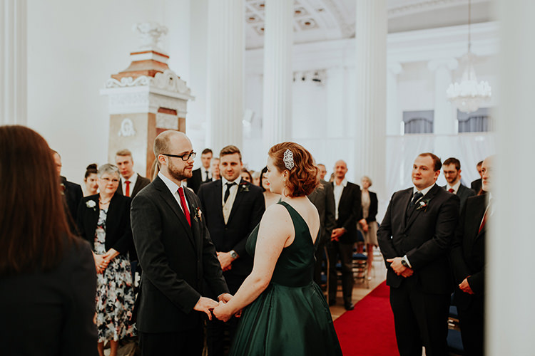 Pittville Pump Room Ceremony All The Colours Quirky Dinosaur Wedding https://leahlombardi.com/