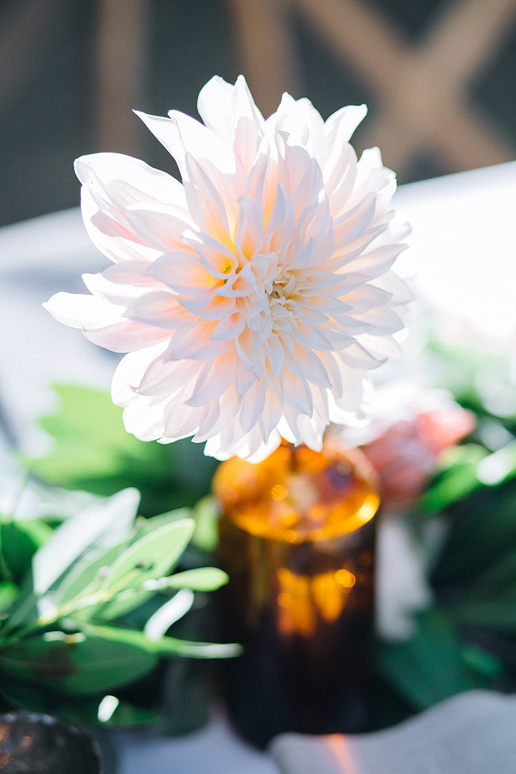 Flowers Table Decoration Bohemian Outdoor Greenery Wedding Georgia http://www.sowingclover.com/