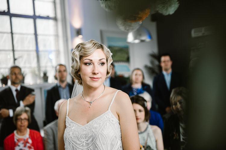 Bride Bridal Make Up Beauty Laid Back Local London Lido Wedding http://andrewbrannanphotography.co.uk/