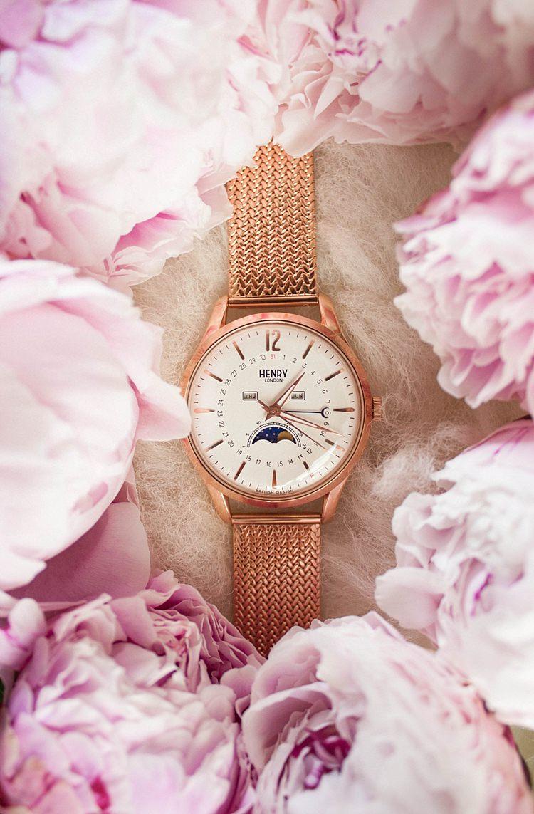 Wedding Gift Present Idea Bride Bridal Bridesmaids Groom Watch Henry London UK