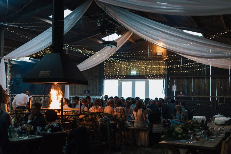Fairy Lights Drapes Swags Fabric Whimsical Wedding Sea Rustic Barn http://sugarbirdphoto.co.uk/
