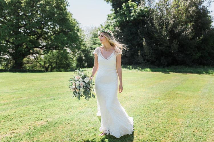 Alfred Angelo Lace Dress Gown Bride Bridal Straps Bohemian Garden Greenery Wedding Ideas http://www.storytellerphotography.co.uk/