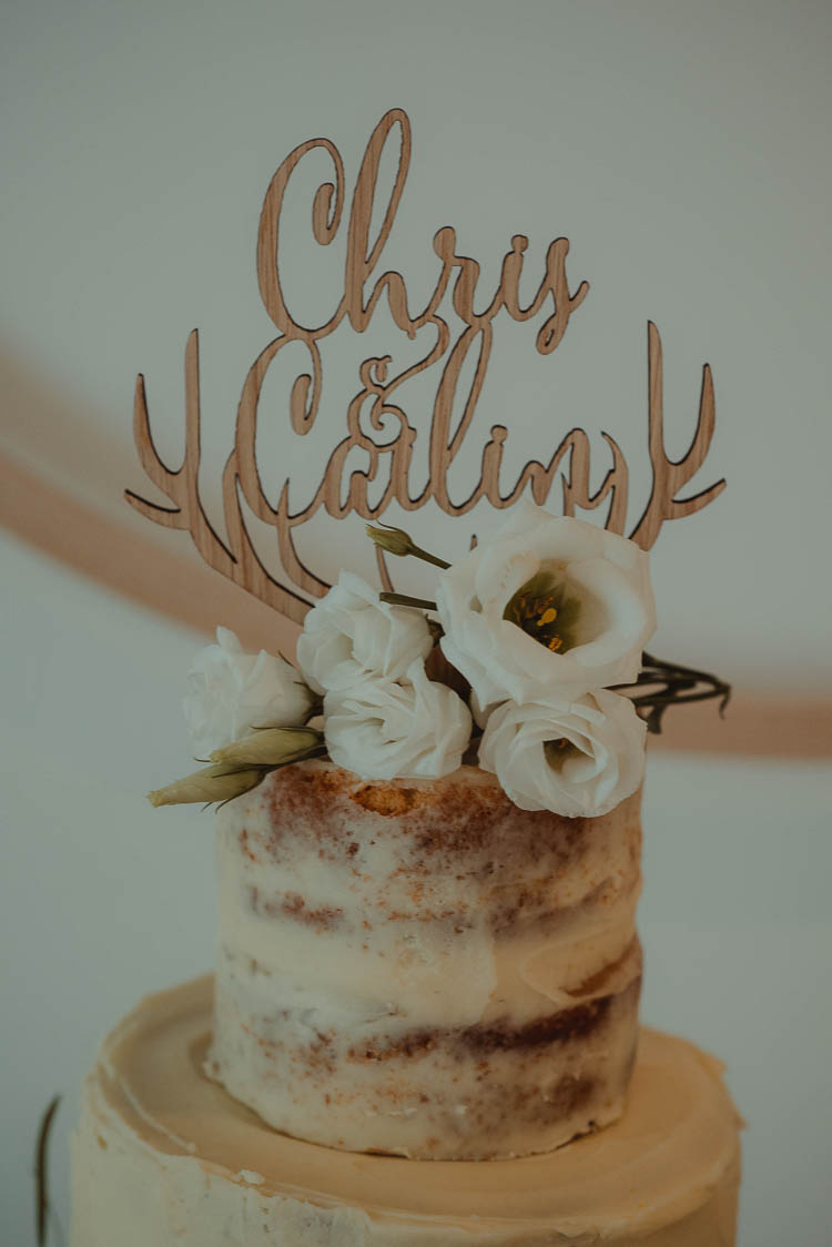 Wooden Cake Topper Personalised Names Whimsical Modern Rustic Barn Wedding http://photomagician.co.uk/