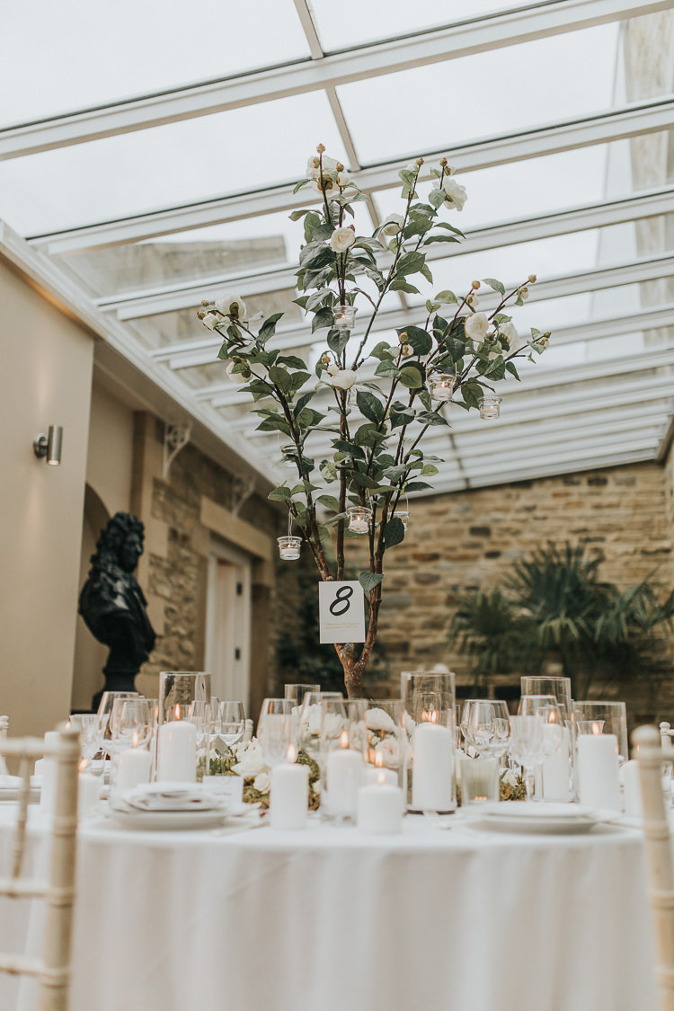 Tree Centrepiece Decor Table Natural Elegance Asian Fusion Wedding Ideas http://liannegrayphotography.com/