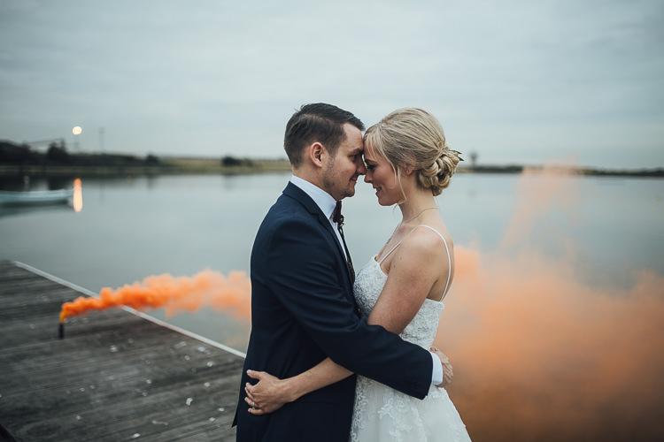 Smoke Bomb Wedding Portraits Images Photographs http://www.struthphotography.com/