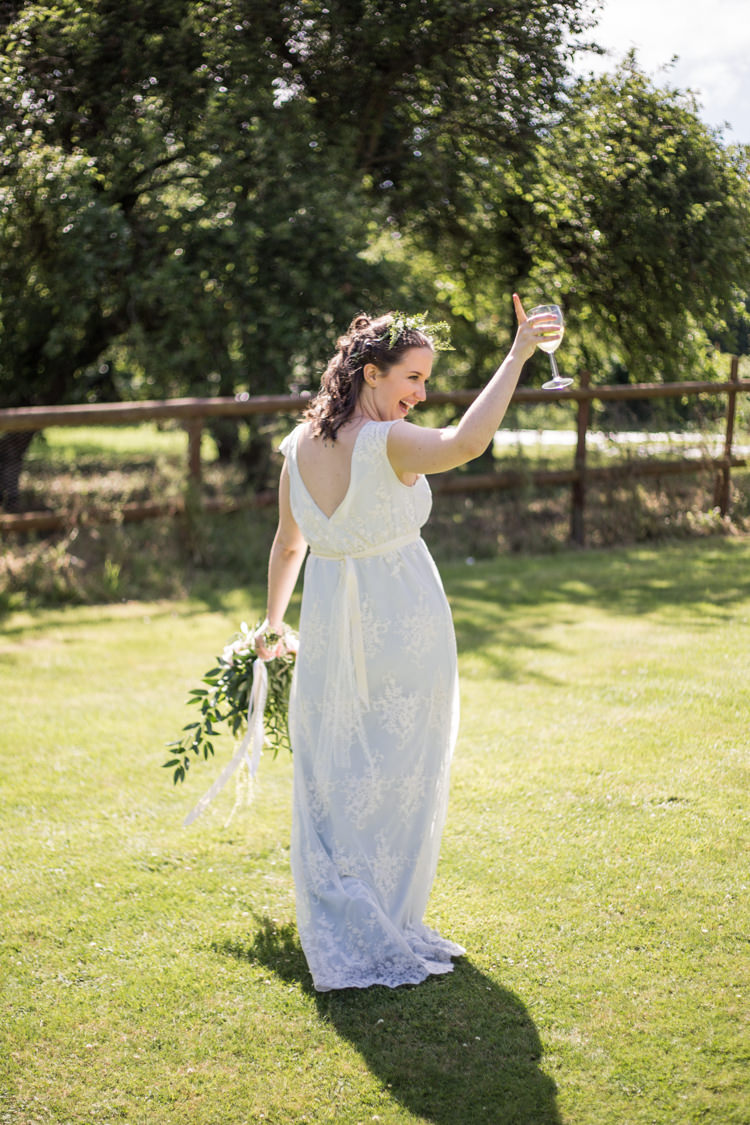 Bespoke Bride This Modern Love Bridal Greenery Foliage Hair Bouquet Natural Outdoor Tipi Wedding https://www.ad-photography.co.uk/