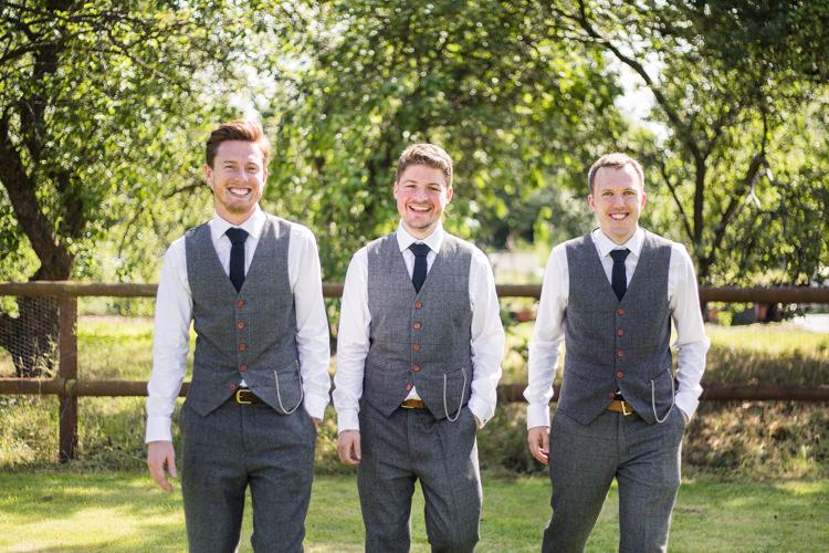 Vintage Suit Groom Groomsmen Waistcoat Tweed Pocket Watch Chain Natural Outdoor Tipi Wedding https://www.ad-photography.co.uk/