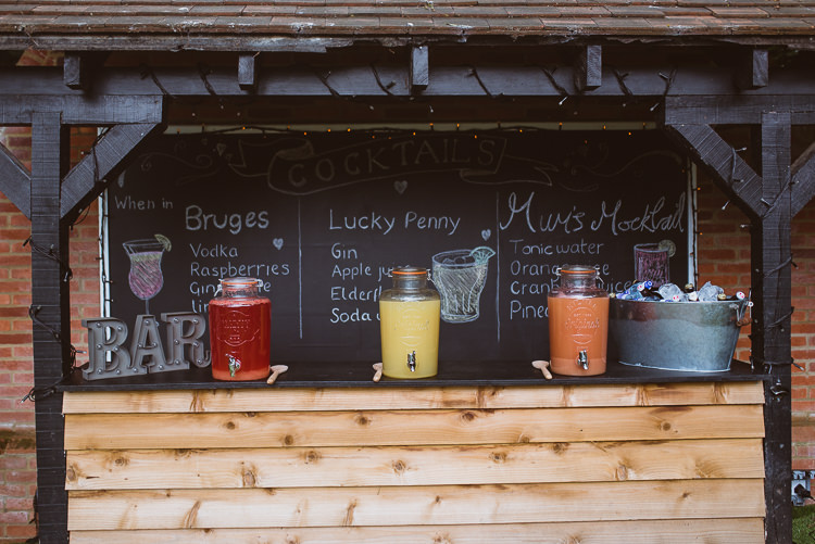 Drink Dispensers Laid Back Summer Garden Party Wedding Stretch Tent http://joemallenphotography.co.uk/