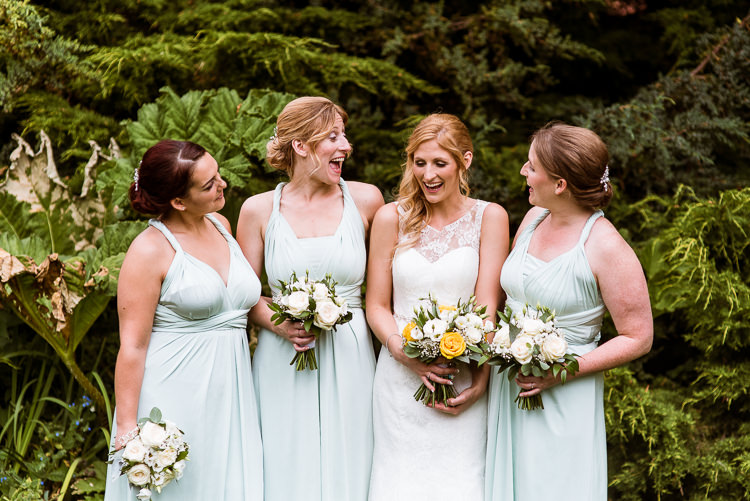 Mint Green Bridesmaid Dresses Laid Back Summer Garden Party Wedding Stretch Tent http://joemallenphotography.co.uk/