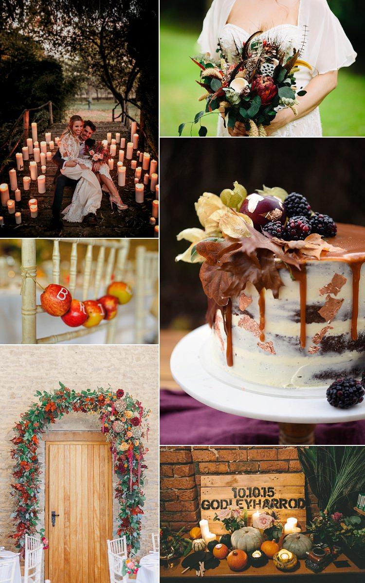 Autumn Wedding Ideas Inspiration Planning Palette Mood Board