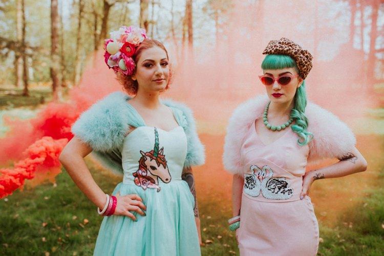 Smoke Bomb Wedding Portraits Images Photographs http://www.beckyryanphotography.co.uk/