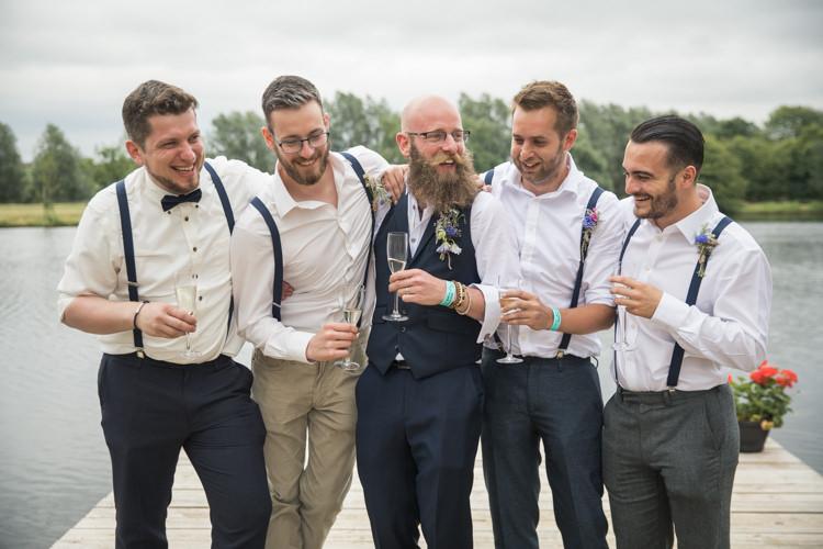 Braces Groomsmen Relaxed Cool Hipster Boho Festival Tipi Wedding http://alexaclarkekent.com/