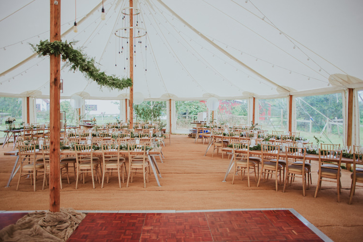 Vintage Pole Marquee Lighting Rustic Greenery White Apple Orchard Wedding http://bigbouquet.co.uk/