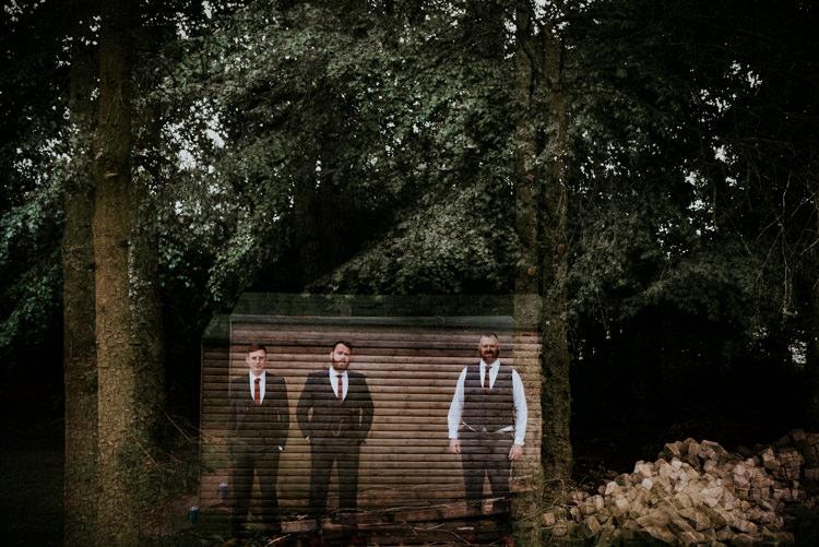 Groom Groomsmen Suit Navy Waistcoat Unique Personal Natural Wedding Style https://photo.shuttergoclick.com/