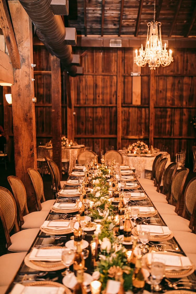 Gold Perspex Wood Decor Chandelier Barn Wood Garland | Festive Glamour Christmas New Years Eve Wedding http://www.stevendrayimages.com/