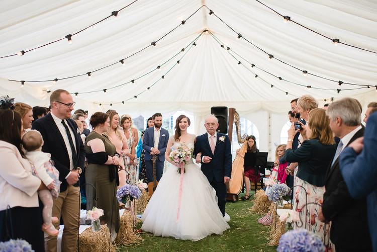Personal Homegrown Country Farm Wedding https://www.emmahare.com/