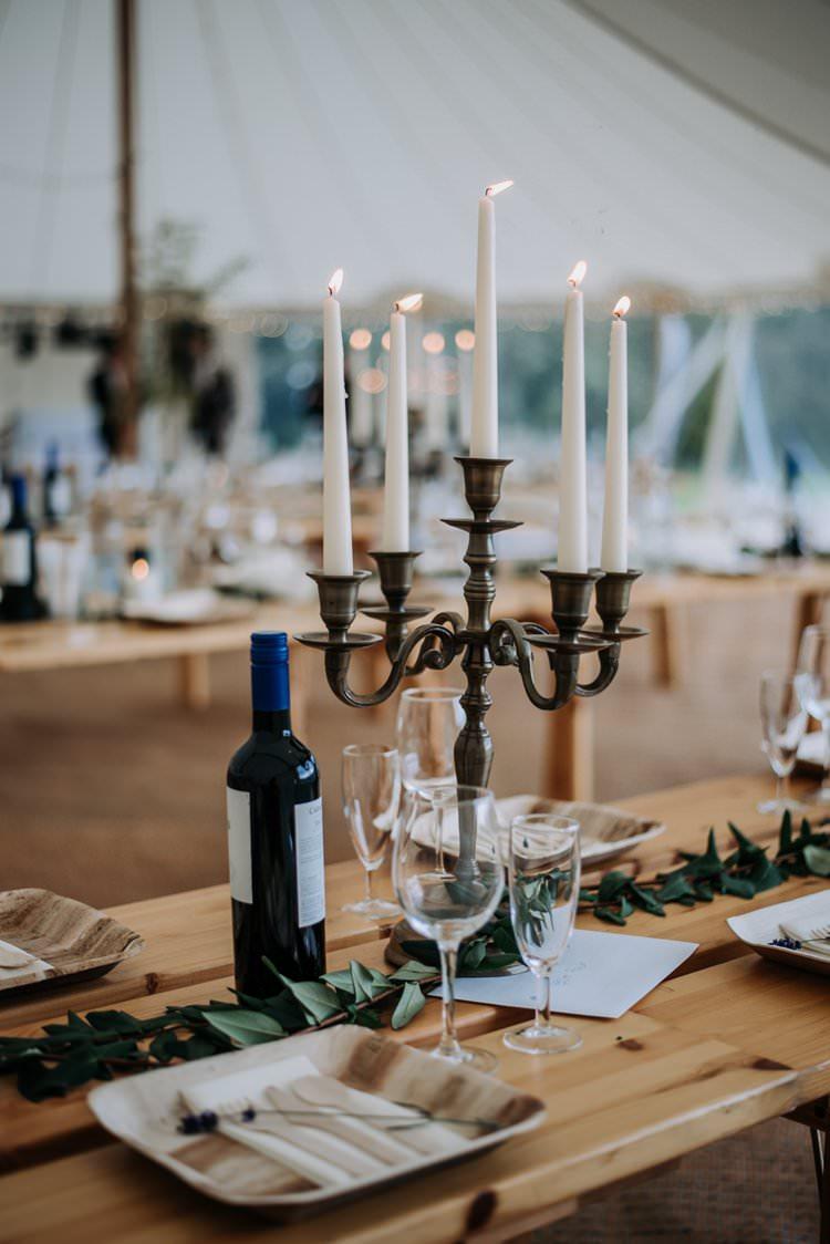Candelabra Decor Centrepiece Rustic Peaky Blinders Vineyard Wedding Yorkshire https://www.kazooieloki.co.uk/