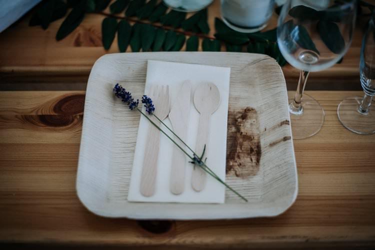 Eco Wooden Plates Cutlery Rustic Peaky Blinders Vineyard Wedding Yorkshire https://www.kazooieloki.co.uk/