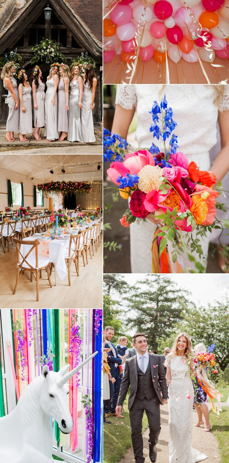 Rainbow Unicorn Real Wedding Ideas Inspiration Trends 2017 2018 http://clairemacintyre.com/