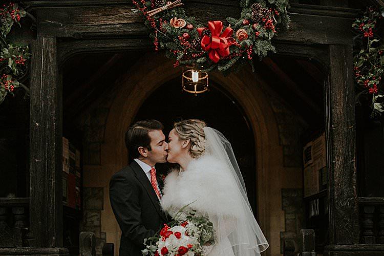 Traditional Christmas Wedding Red Festive https://lolarosephotography.com/